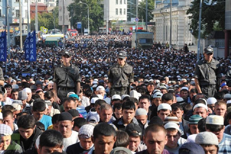 MUSLIM RUSIA KURANG MASJID UNTUK SHALAT