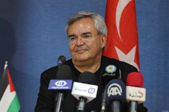 DELEGASI TURKI KUNJUNGI GAZA BAHAS REKONTRUKSI
