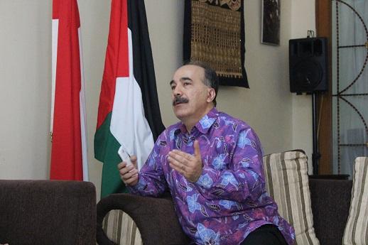 Kuasa Usaha a.i. Kedubes Palestina Jadi Pembicara pada Tabligh Akbar di Purwakarta
