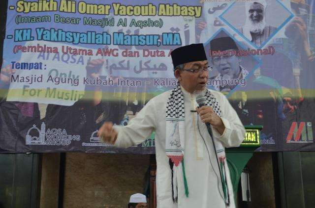 DUTA AL-QUDS : MUSUH UTAMA ISLAM ADALAH YAHUDI DAN MUSYRIK