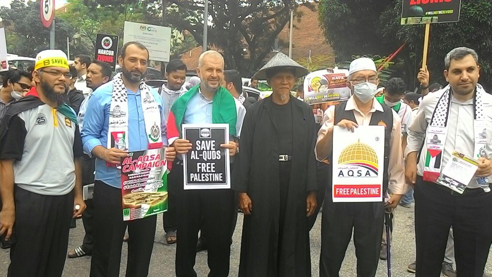 ORMAS MALAYSIA SERUKAN UMAT ISLAM BERSATU HENTIKAN SERANGAN ISRAEL KE AL-AQSHA