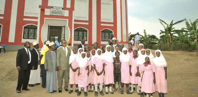 ORGANISASI DAKWAH ISLAM QATAR SUDAH BANGUN 123 MASJID DI UGANDA
