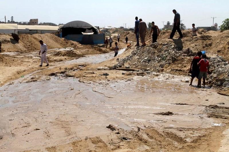 PALESTINA MINTA MESIR HENTIKAN PEMBANGUNAN SALURAN AIR DI PERBATASAN GAZA