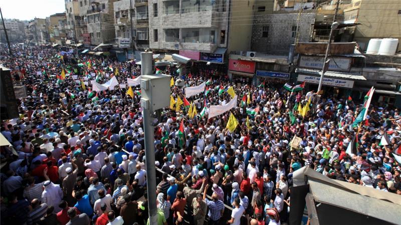 RAKYAT YORDANIA TUNTUT PUTUS HUBUNGAN ISRAEL