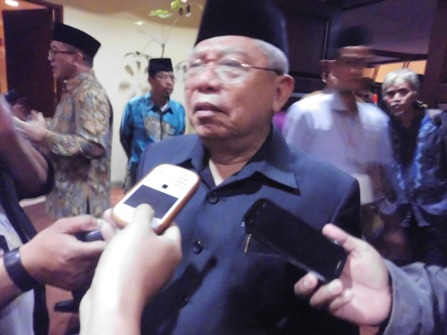 KH Maruf Amin Nilai Khilafah diusung HTI Tak Sesuai Sistem Pemerintah Indonesia