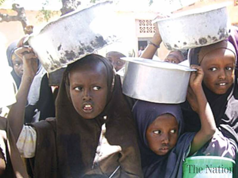 JUTAAN ANAK DI AFRIKA TERANCAM KELAPARAN AKIBAT FENOMENA EL NINO