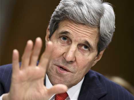 Kerry Desak Israel-Palestina Sepakati Batas Wilayah 1967