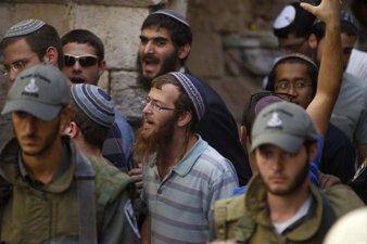KELOMPOK EKSTREMIS ISRAEL SERBU KOMPLEKS MASJID AL-AQSHA