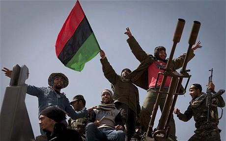 FAKSI-FAKSI BERTIKAI DI LIBYA SEPAKATI PEMBENTUKAN PEMERINTAH PERSATUAN