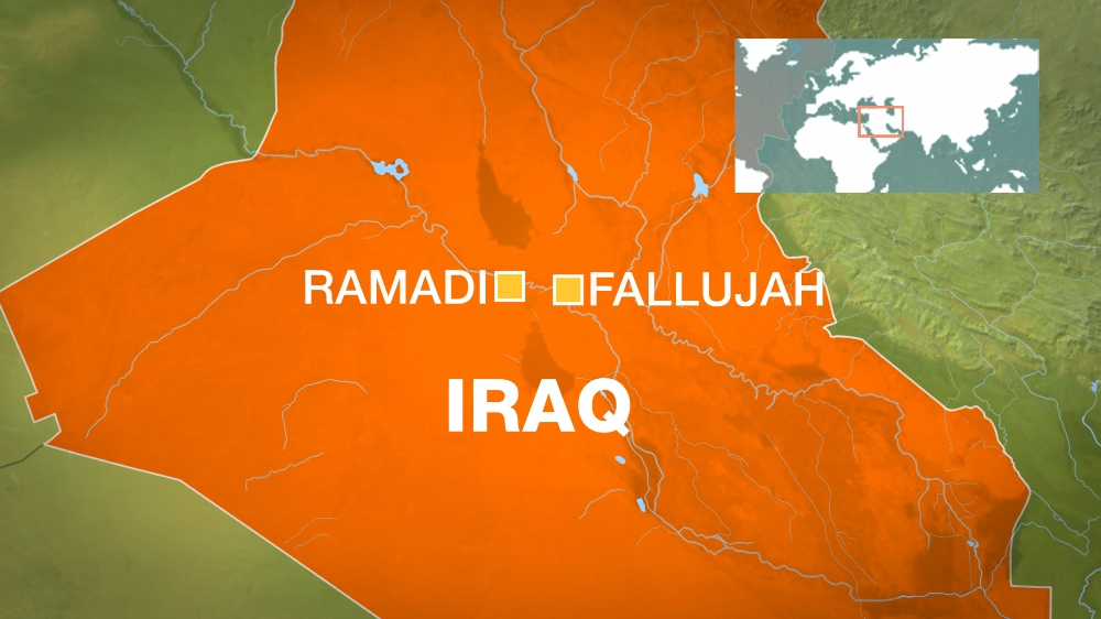 LAWAN ISIS, PASUKAN IRAK MAJU DI RAMADI RUGI DI FALLUJAH