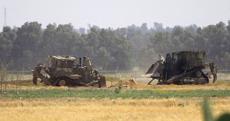 TENTARA ISRAEL LAKUKAN SERANGAN SKALA KECIL KE GAZA