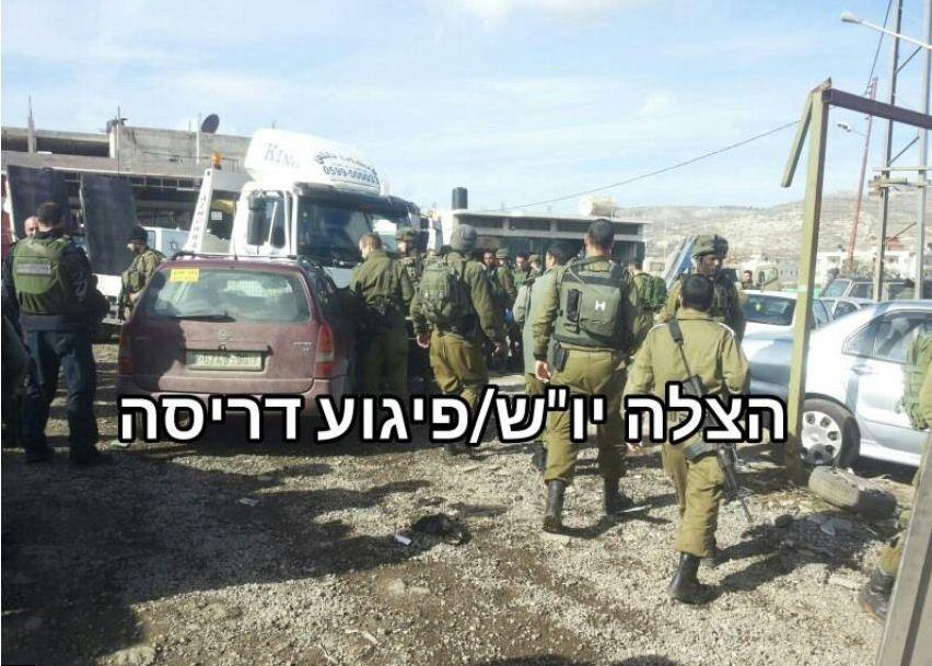 TENTARA ZIONIS ISRAEL TERLUKA PARAH DILINDAS MOBIL PEMUDA PALESTINA