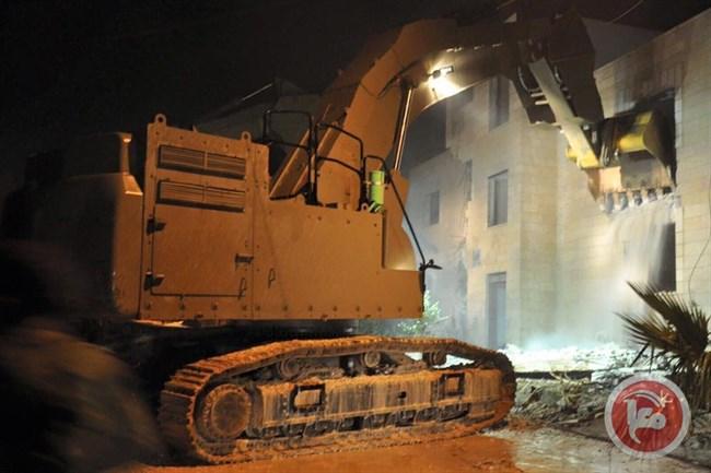 Israel Hancurkan Rumah Warga Palestina yang Sedang Dibangun di Silwan