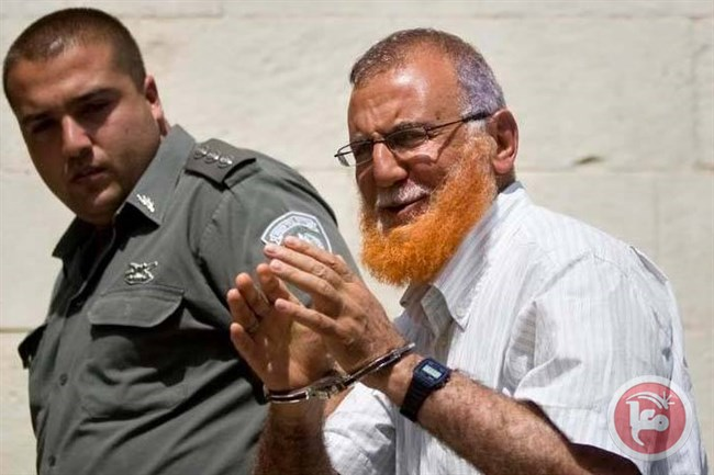 Israel Tahan Anggota Parlemen Palestina