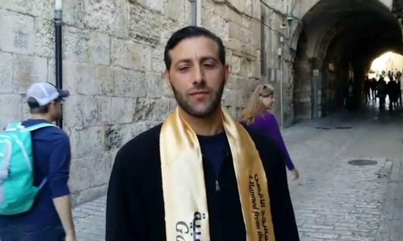 TERIAKKAN KALIMAT TAKBIR, POLISI ISRAEL TANGKAP SEORANG PEMUDA PALESTINA