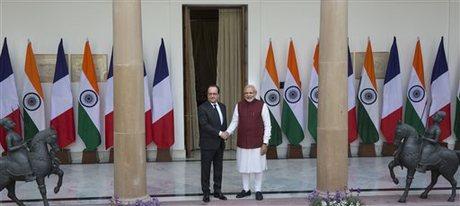 Perancis-India Jalin Kerja Sama Lawan Teroris