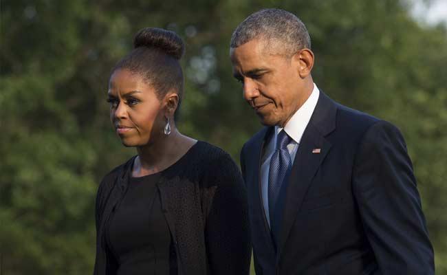 Obama Tiba Di Tanah Pendudukan Hadiri Pemakaman Shimon Peres