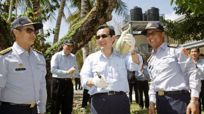 Presiden Taiwan Tuai Kritikan Saat Kunjungi Wilayah Laut Cina Selatan