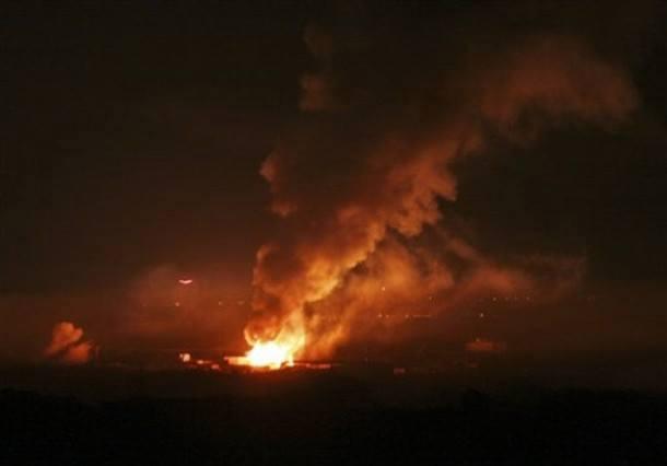 PESAWAT TEMPUR ISRAEL KEMBALI BOMBARDIR GAZA