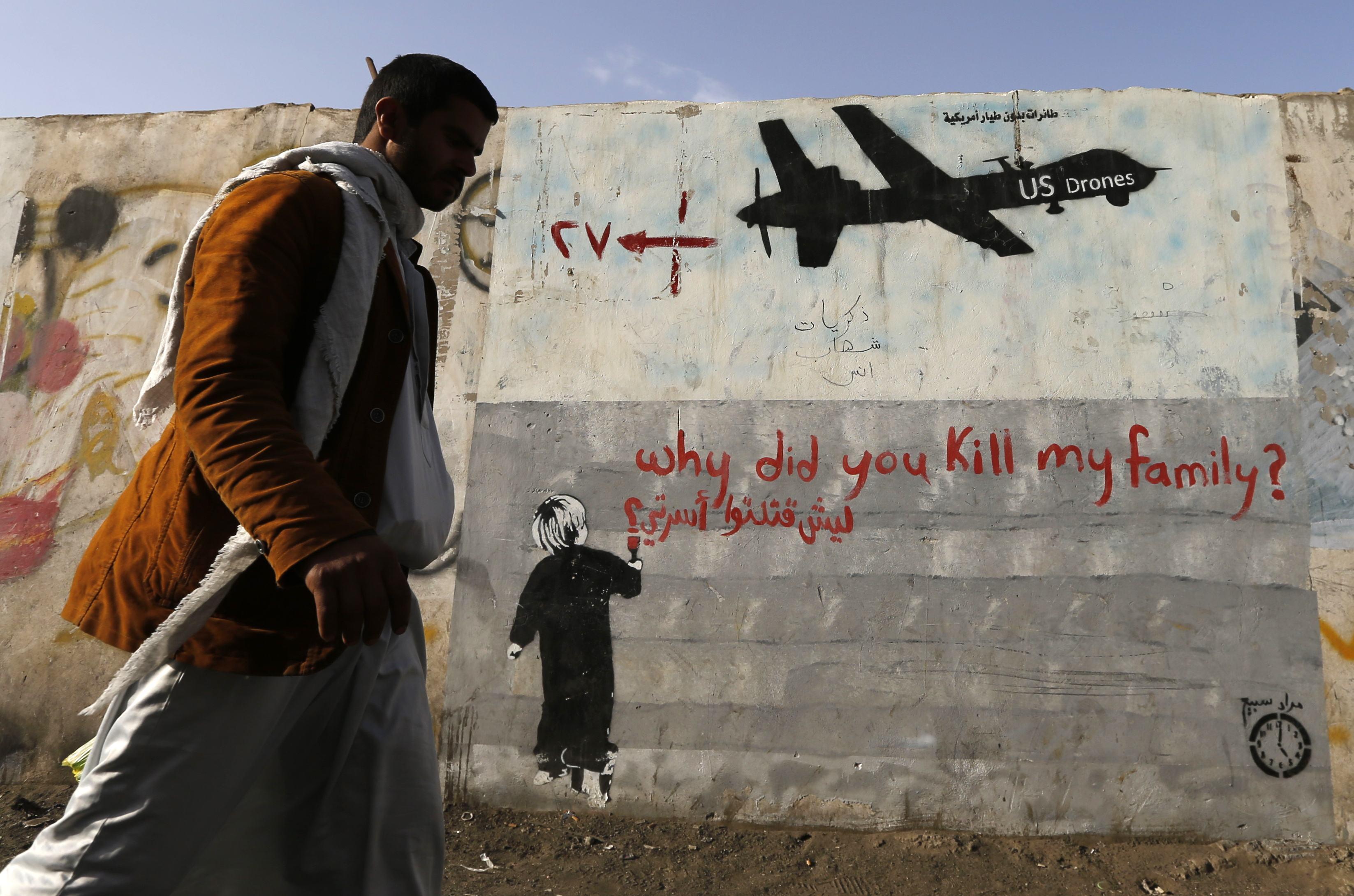 Serangan Drone AS Tewaskan Dua Militan Yaman