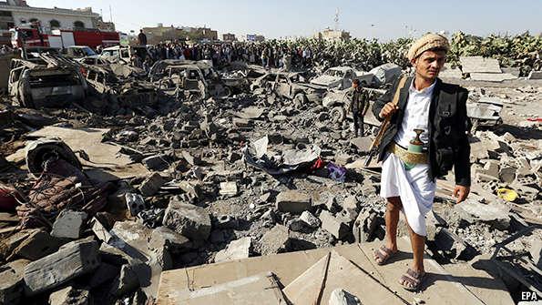 Dampak Serangan ke Yaman : 24.290 Korban, 345.722 Rumah Hancur, 615 Masjid Rusak