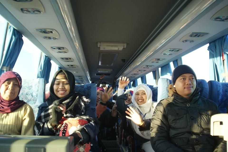 KBRI Damaskus Repatriasi 25 TKW Dari Suriah