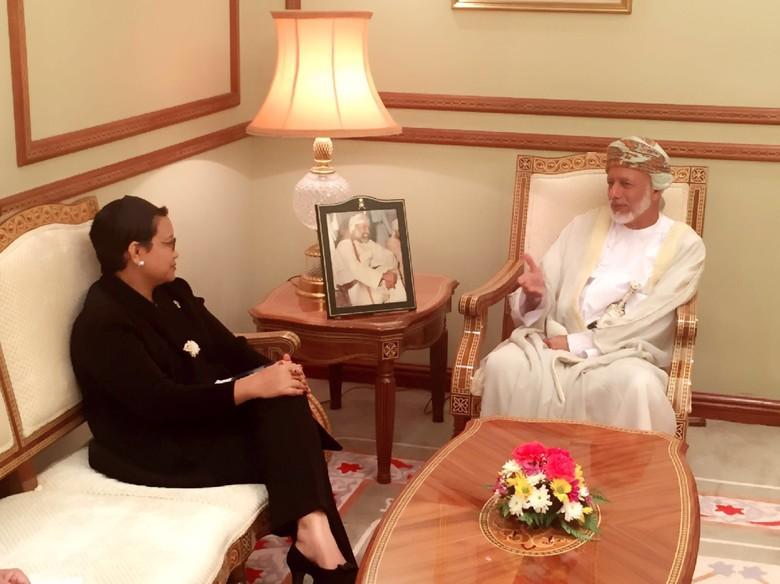 Indonesia-Oman tingkatkan Kerja Sama di Berbagai Bidang