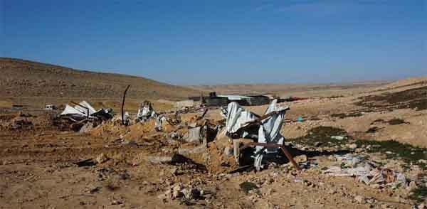 Untuk 174 Kalinya, Israel Hancurkan Sebuah Desa Badui