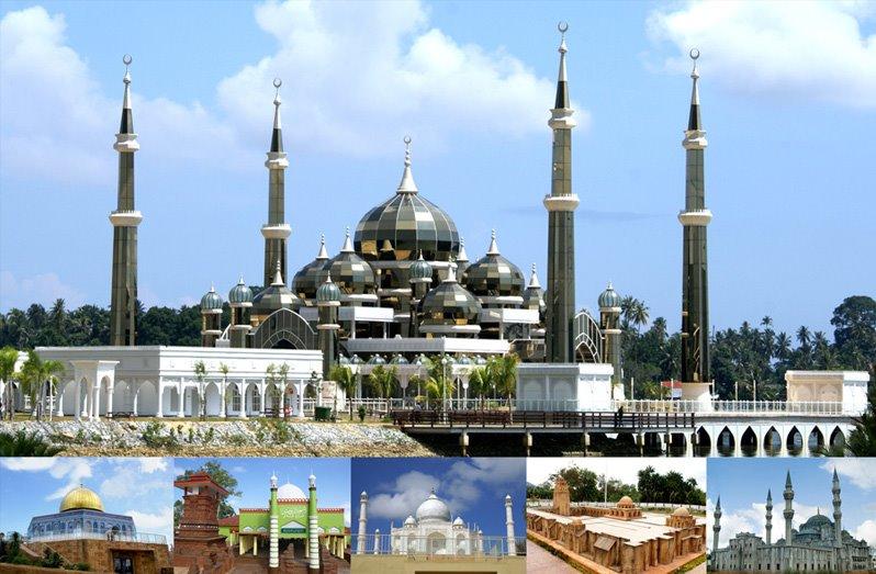 Replika Masjid Masjid Bersejarah Di Taman Tamadun Islam Terengganu Malaysia Mina News