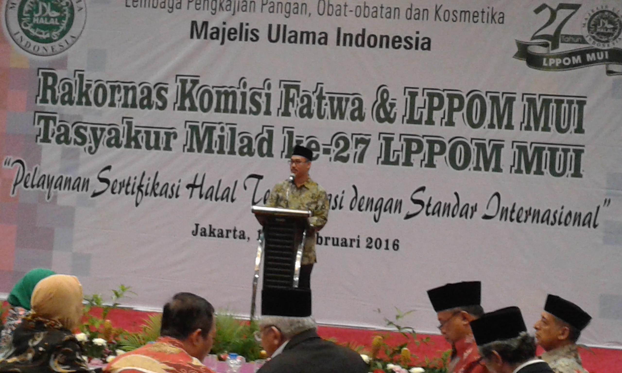Lukmanul Hakim: Auditor Halal Harus Disertifikasi MUI