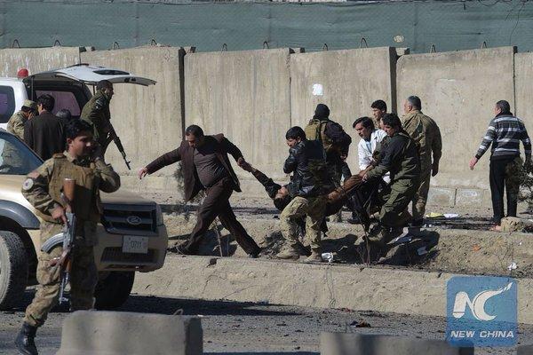 Bom Bunuh Diri Taliban Serang Gedung Polisi Kabul