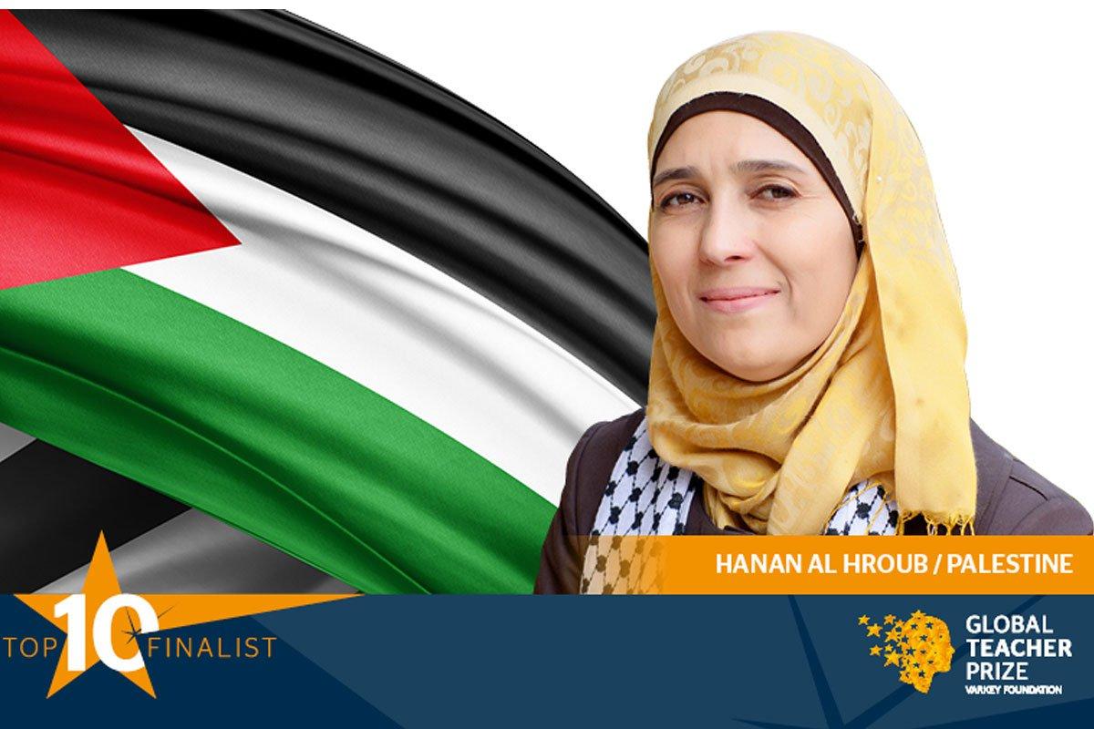 Pengajar Asal Palestina Masuk 10 Besar Final Kompetisi Guru Internasional