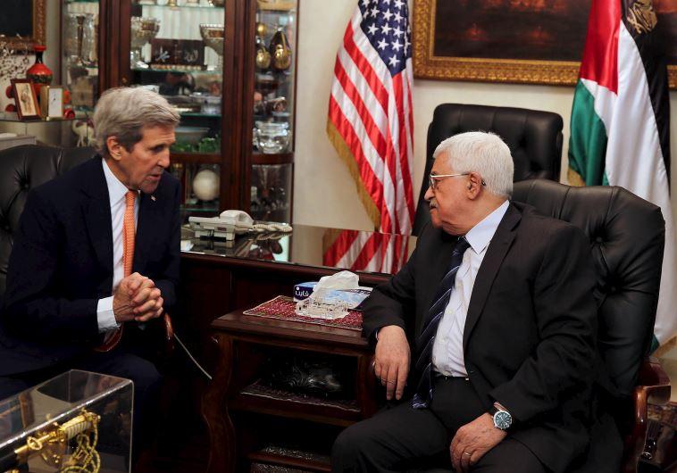 Kerry Bertemu Abbas Bahas Konflik