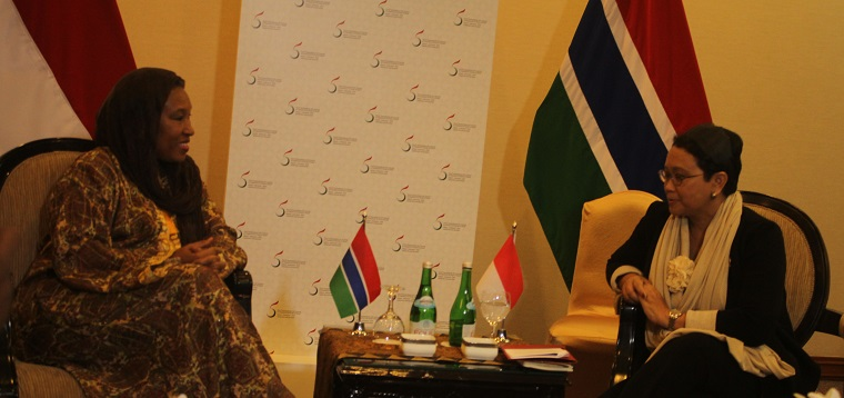 Menlu RI dan Gambia Dorong Persatuan Negara OKI Dukung Kemerdekaan Palestina
