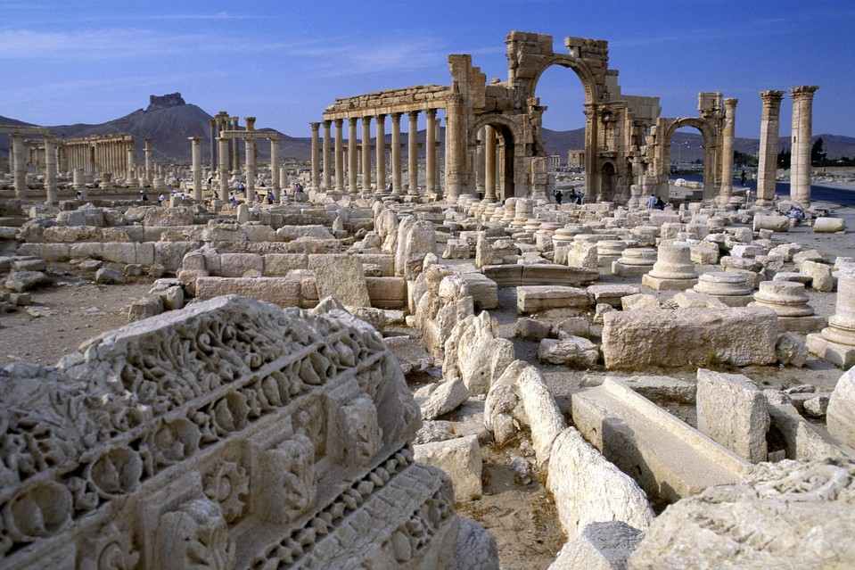 Pasukan Suriah Rebut Palmyra dari ISIS
