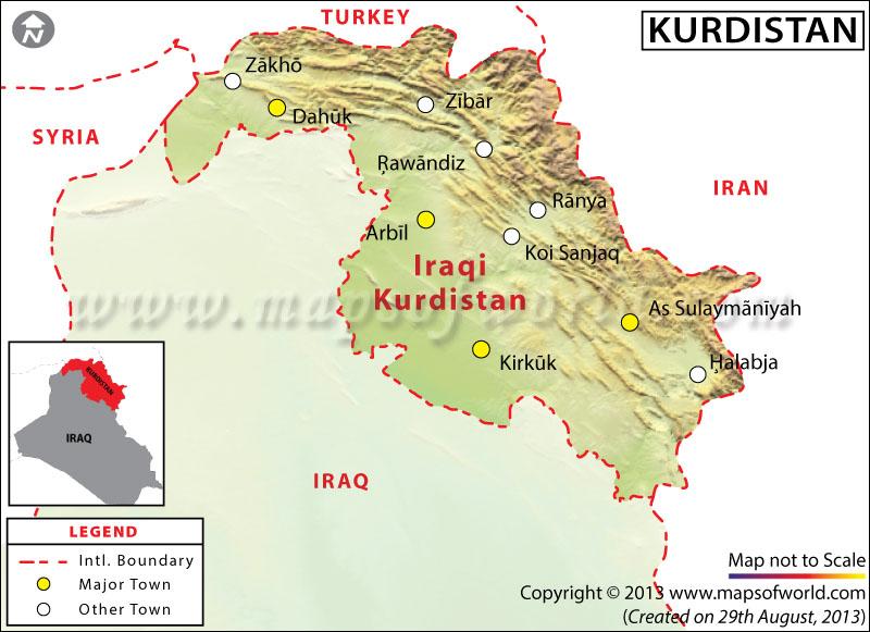AS Tolak Rencana Kurdistan Merdeka dari Irak