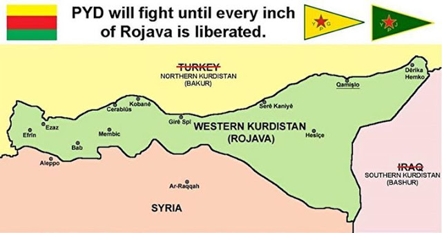 Kurdi Suriah Deklarasikan Wilayah Otonomi Rojava