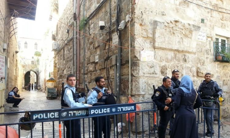 Polisi Israel Cegah Aksi Protes Muslimah Palestina yang Dilarang Masuk Al-Aqsha