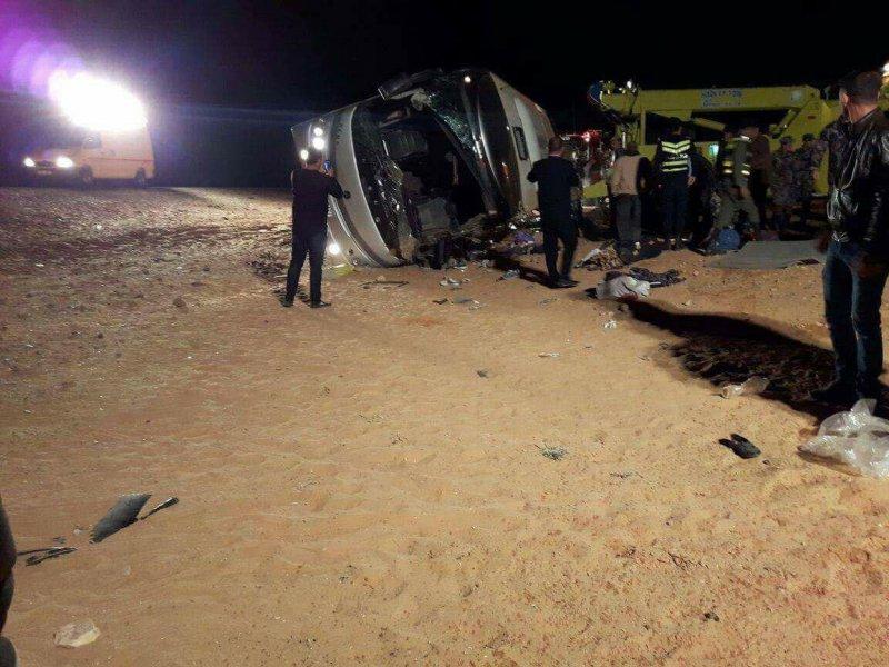 Sedikitnya 14 Jamaah Umroh Palestina Wafat dalam Kecelakaan Bus di Yordania