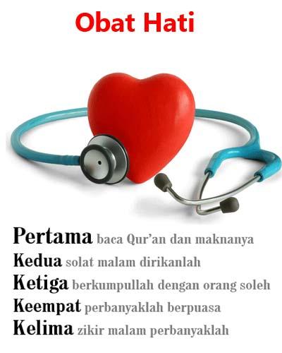 Obat Penyakit Hati Menurut Islam