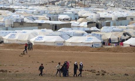 Kelahiran Bayi ke-5.000 di Klinik Kamp Pengungsi Zaatari Dirayakan