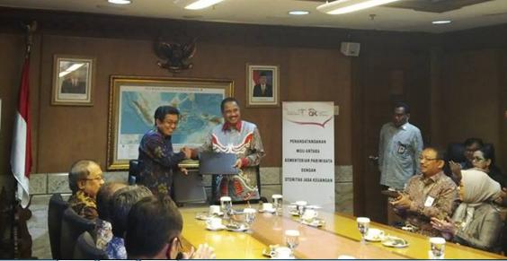 OJK-Kemenpar Jalin Kerjasama Dukung Pencapaian Target Kunjungan Wisatawanke Indonesia