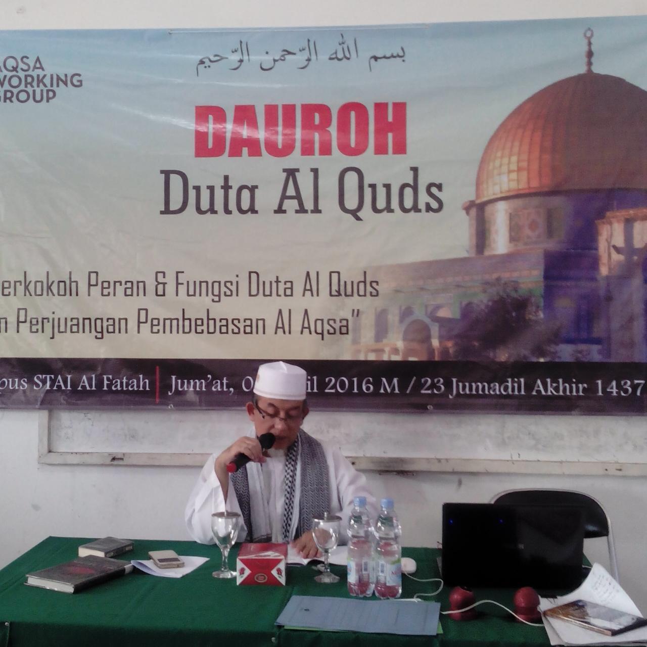 Yakhsyallah Mansur: Bersatu dan Jauhi Maksiat untuk Rebut Al-Aqsha