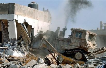 Ekstrimis Yahudi Ratakan Bangunan di Desa Jallad Selatan Nablus
