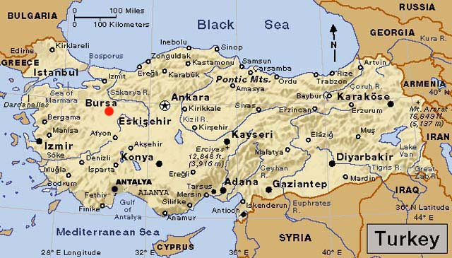 Seorang Wanita Ledakkan Diri di Kota Turki