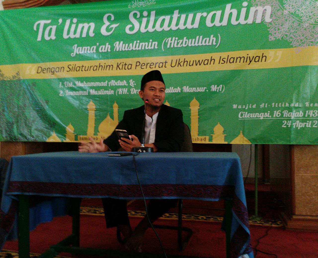 Ketua LBA: Ukhuwah Islamiyah adalah Kenikmatan