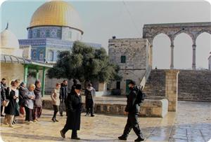 4.840 Ekstrimis Yahudi Serbu Al-Aqsha Sejak Awal Tahun