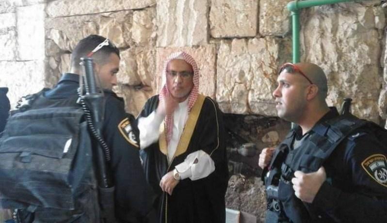 Yordania Kutuk Penangkapan Imam Masjid Al-Aqsha