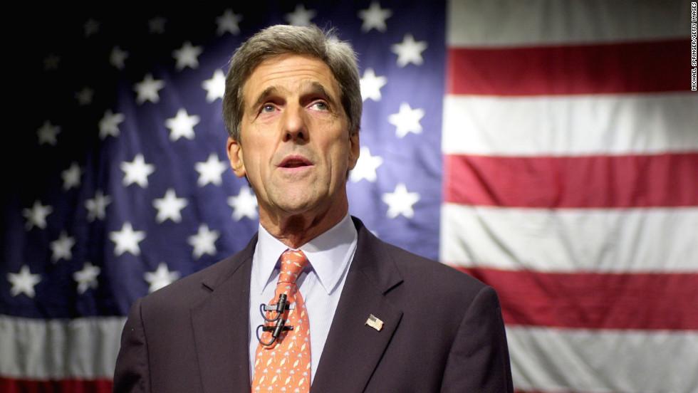 Roket Serang John Kerry di Kabul Afghanistan