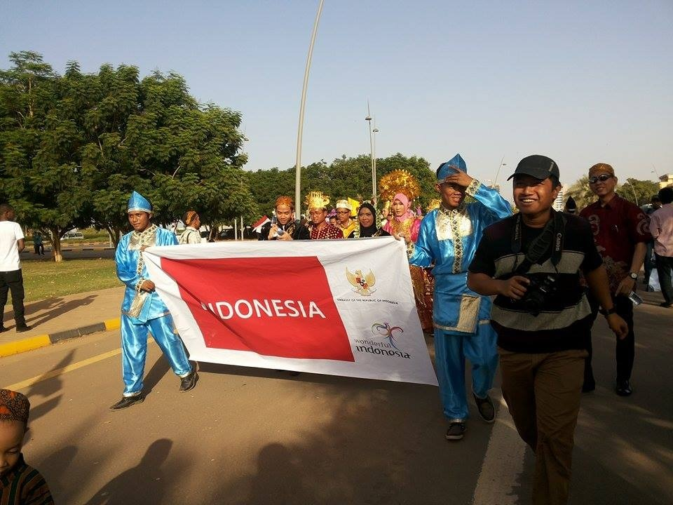 KBRI di Sudan Ikuti Karnaval Budaya dan Pariwisata Internasional